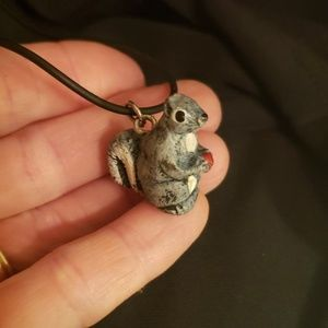 Jewelry - Squirrel on a Necklace